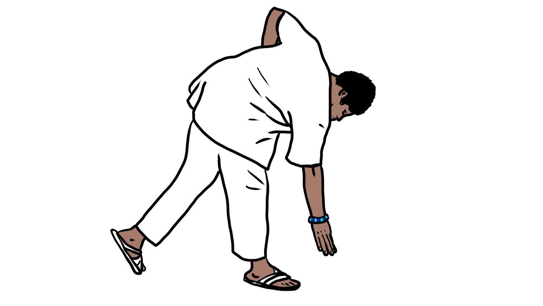 Dobale, dubule, idobale, prostração yoruba, saudações yoruba, ritual orisha