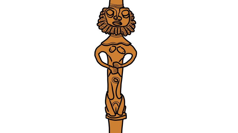 ogboni, edan ogboni, ochun. oshun, edan, yoruba, orisha, yoruba brass, yoruba bronze