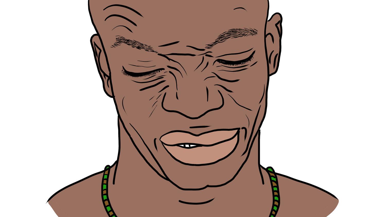 Ridículo, gesto yoruba, orisha, orisha, nigeria, lagos, aguda