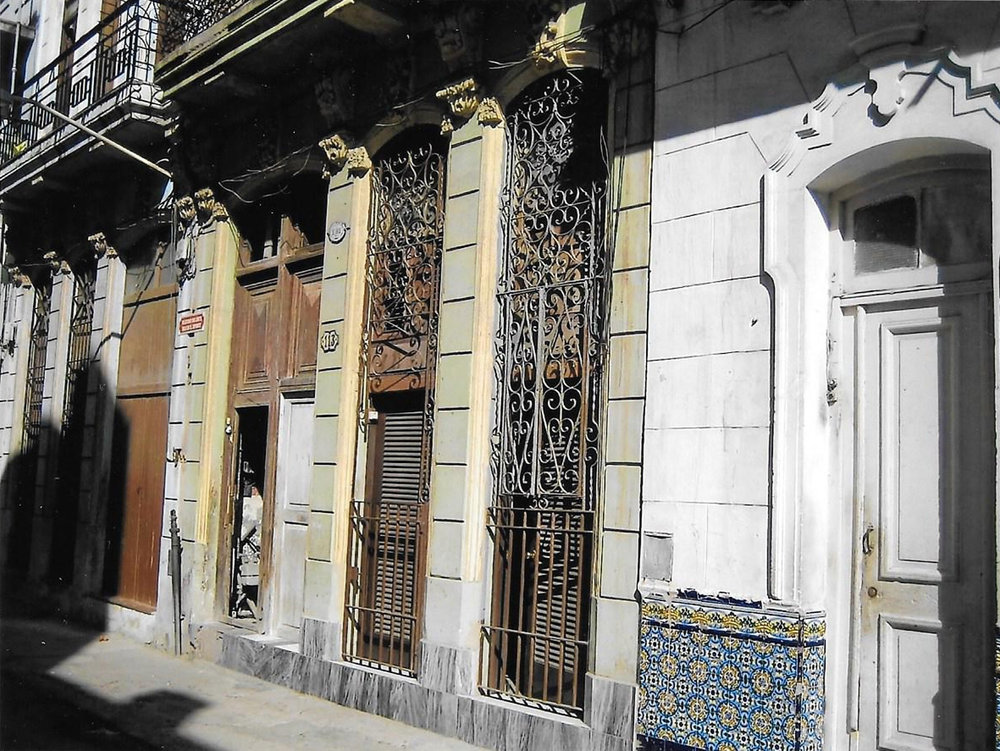 Perseverancia #113, the house of Thomas's godfather in Ifá, Pablo Sánchez. ©Thomas Altmann