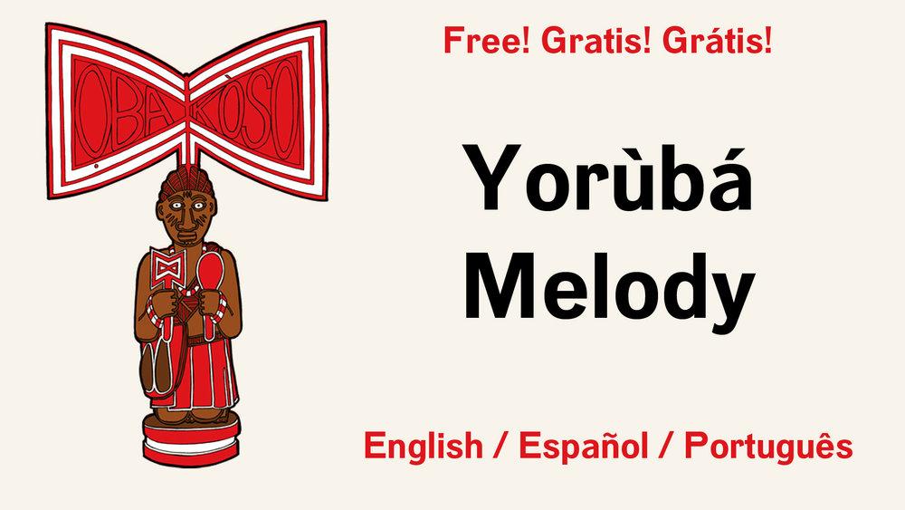 yoruba melody audio course, free yoruba course, orisha image
