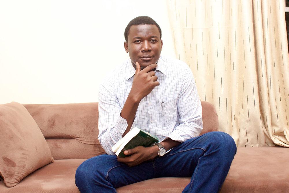 Linguist, poet and journalist Kọ́lá Túbọ̀sún is living in Lagos, Nigeria.©Kọ́lá Túbọ̀sún