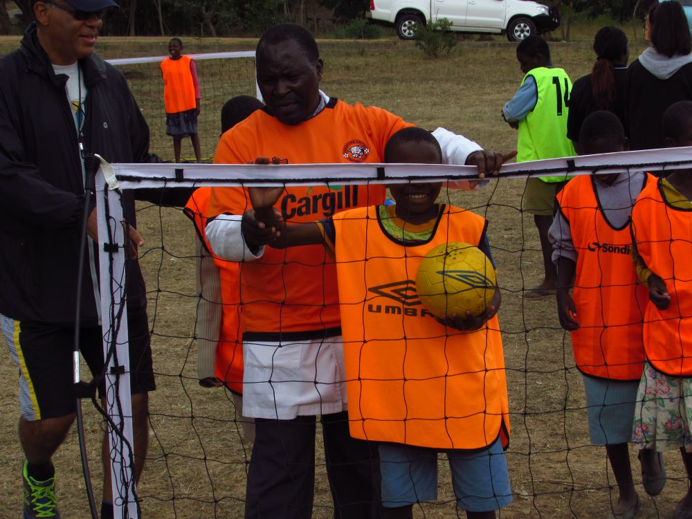 FOOTBALL FOR THE BLIND   Supported by Chigoli