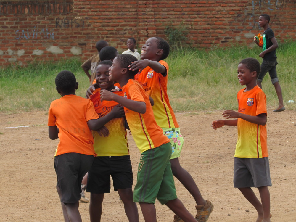 CELEBRATE   The Gift Of Football To Some Of The Poorest Children On Earth