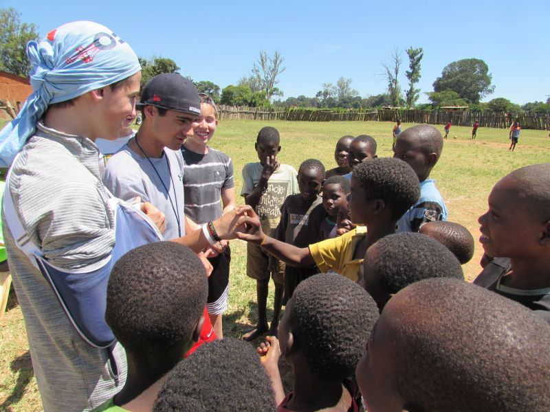 ENGAGE   With The Friendliest People In Africa