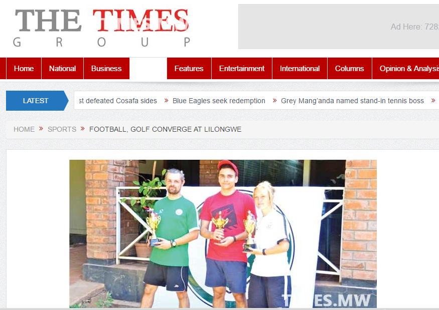 2nd June, 2016 - Malawi Times Newspaper
