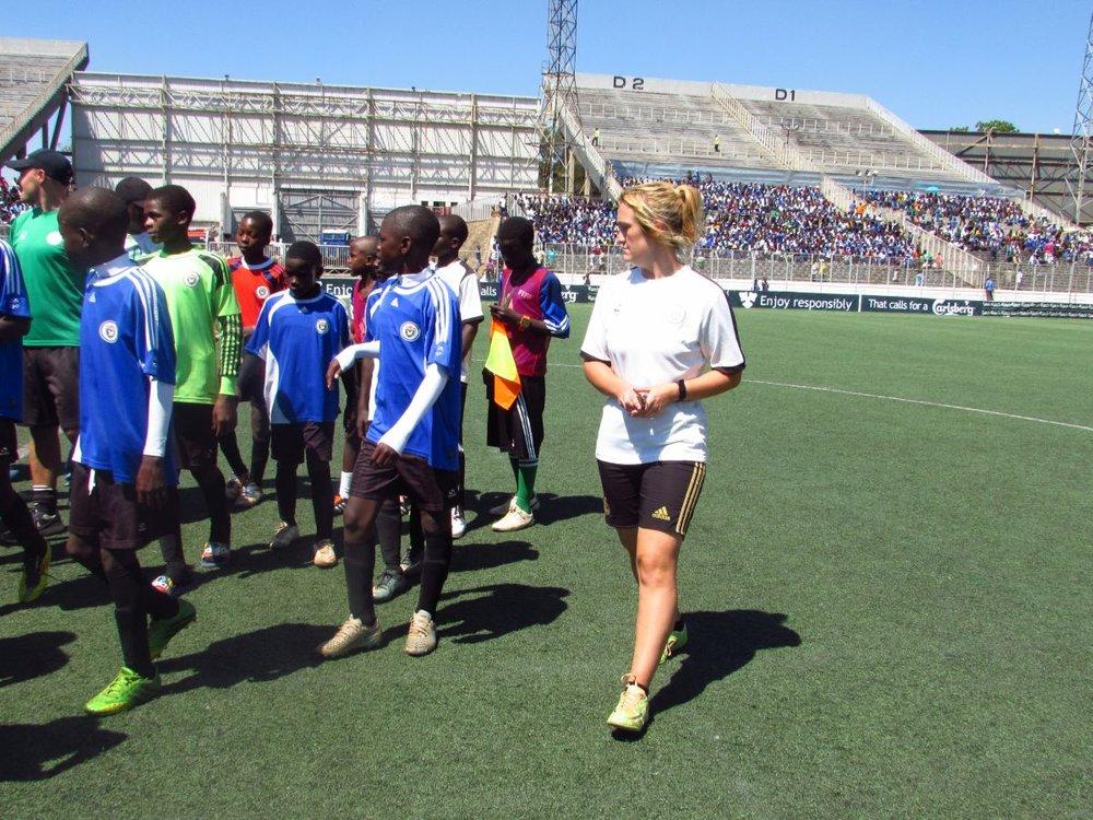 Caitlin Macmillan - Chigoli Head Goal Keeper Coach