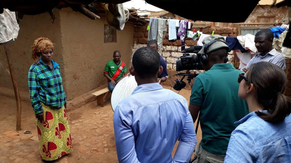 On Location   At Dzaleka Refugee Camp with CNN