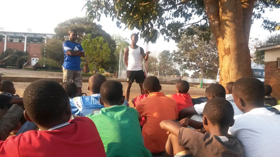 Leading By Example   Sharing Knowledge & Experience With Chigoli Players