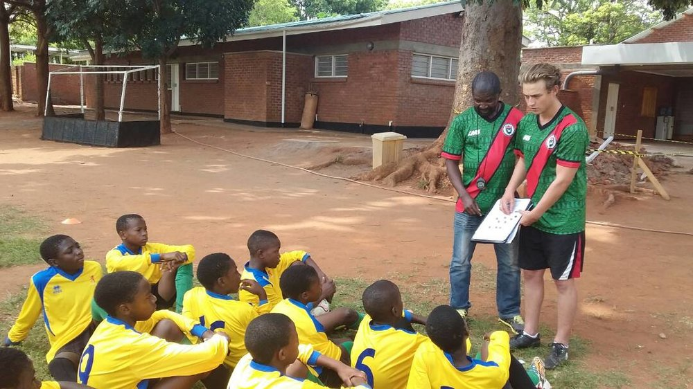 Coaching With Chigoli   Coach The Best Youth Players From All Over Malawi
