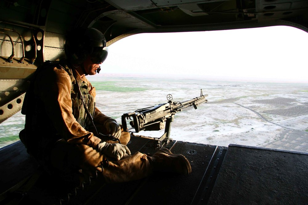 Above Enemy Lines Two months embedded with the RAF's Chinook squadron in Afghanistan