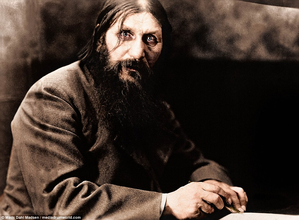 Rasputin: The Devil in the Flesh A dark and stylish portrait of Russia's famous holy man