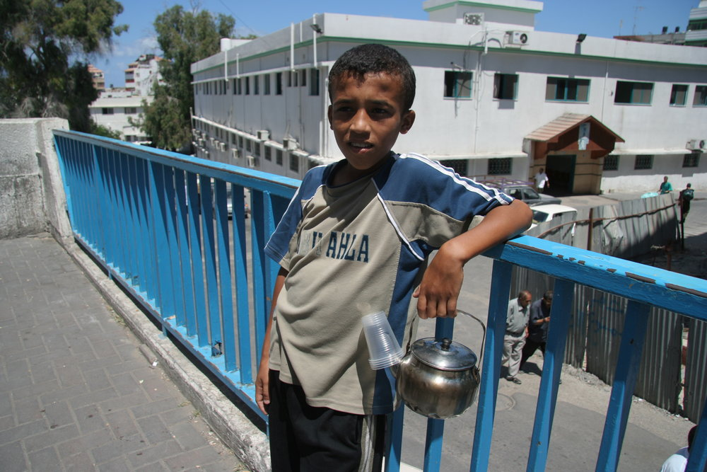 The Tea Boy of Gaza Mahmoud struggles to make a living in the aftermath of Hamas' shock election victory