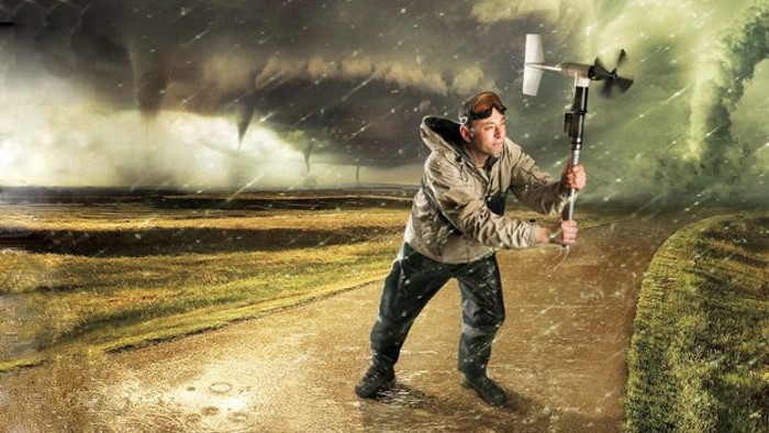 A Very British Storm Junkie   Stuart Robinson: IT consultant by day, storm chaser when his fiance isn't looking.