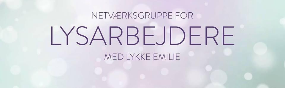 Lysarbejdere - Netværksgruppe på Facebook hos Lykke Emilie