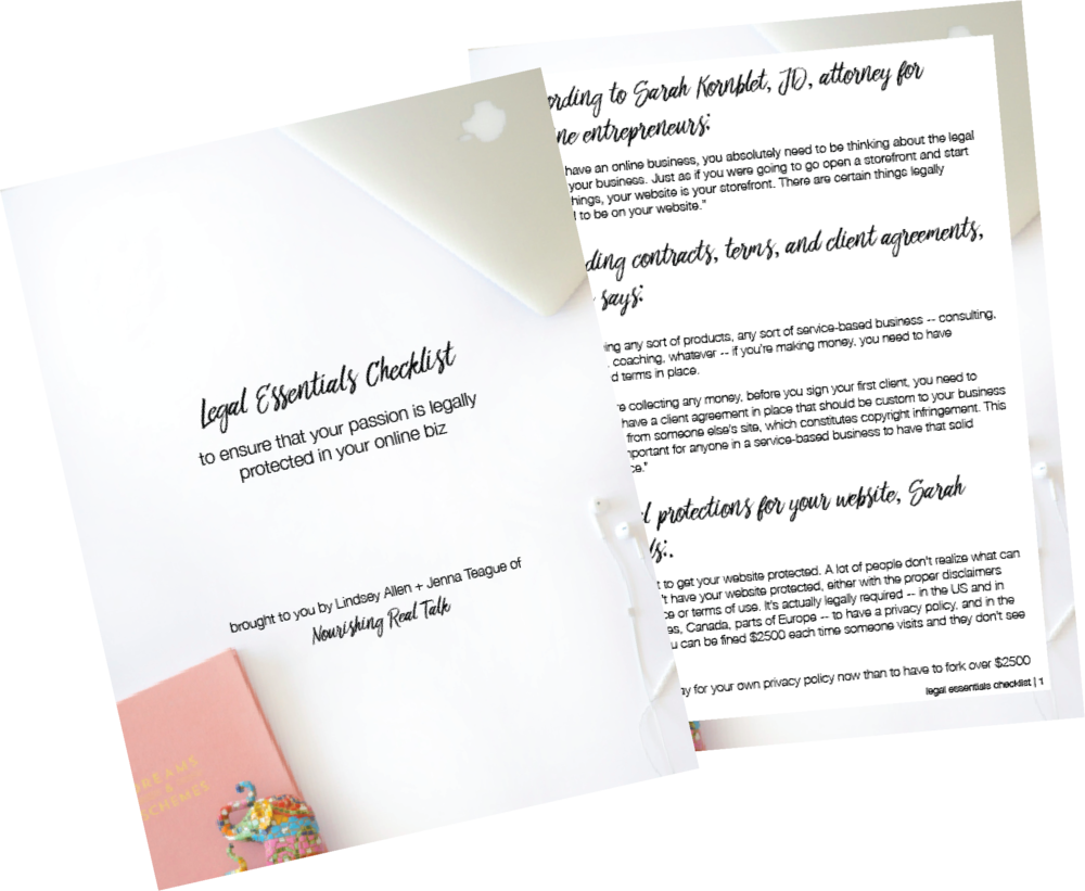 Legal Essentials Checklist