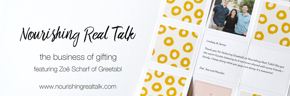 Nourishing Real Talk featuring Zoe Scharf
