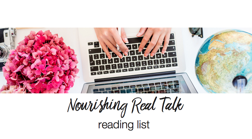 Nourishing Real Talk - Reading List