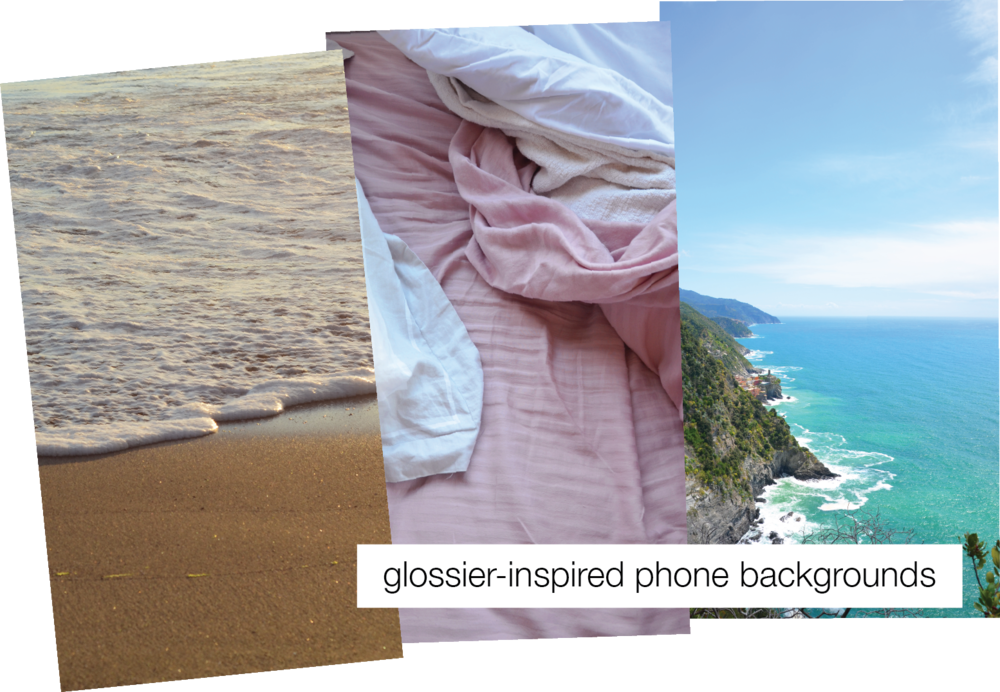 Nourishing Real Talk - Glossier-Inspired Phone Backgrounds