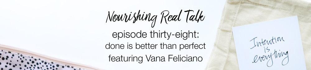 Vana Feliciano | Nourishing Real Talk