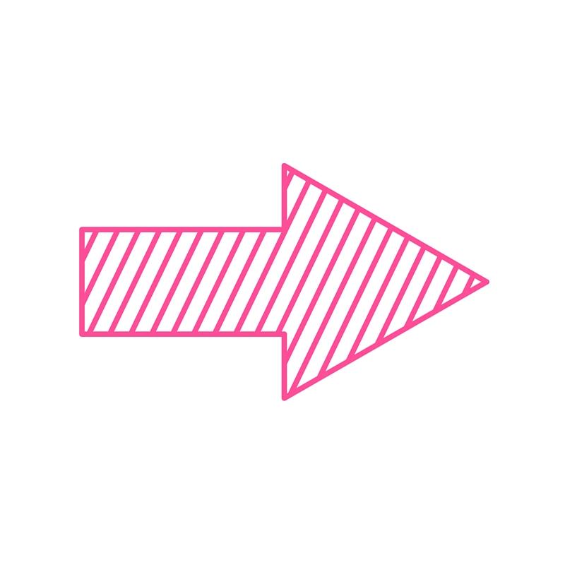 Nourishing Real Talk podcast pink arrow