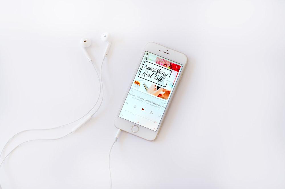 Nourishing Real Talk podcast