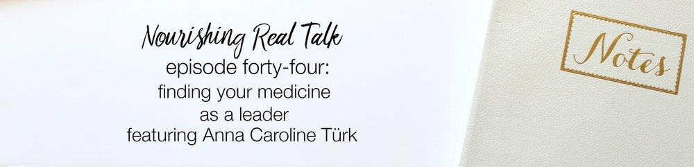 Nourishing Real Talk