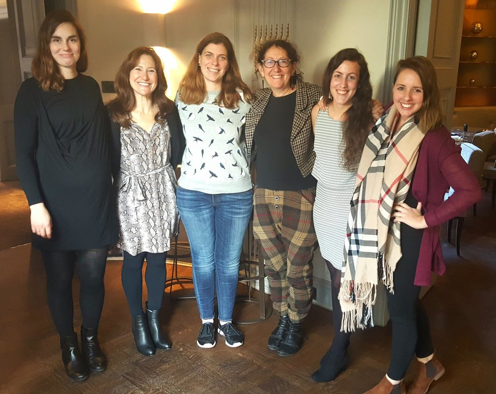 Lucy Mackenzie, Julie Blane, Simi Shah, Suzanne Biegel, Sophie Sara Osterholzer and Ainsleigh Ingle