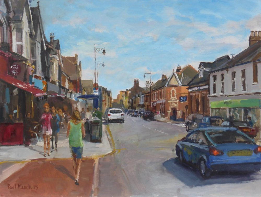 Leigh Broadway - Oil on board 30cm x 40cm 2015.jpg