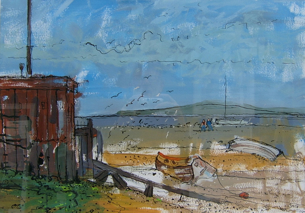 STRAND Wharf  Mixed Media £ £350   BROCHURE PIC.JPG