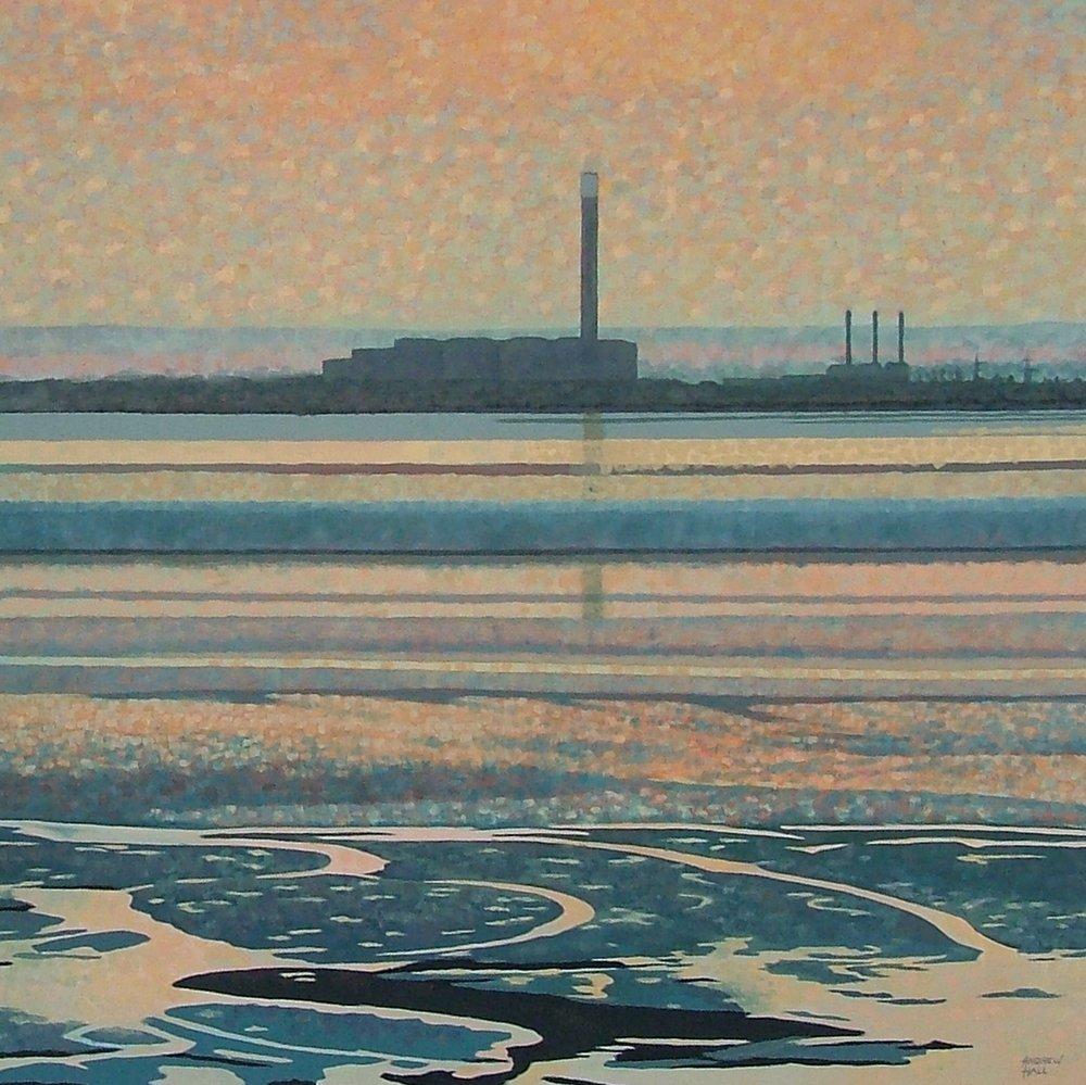 AsH.  Estuary Rhapsody. Oil. 80x60cm.JPG