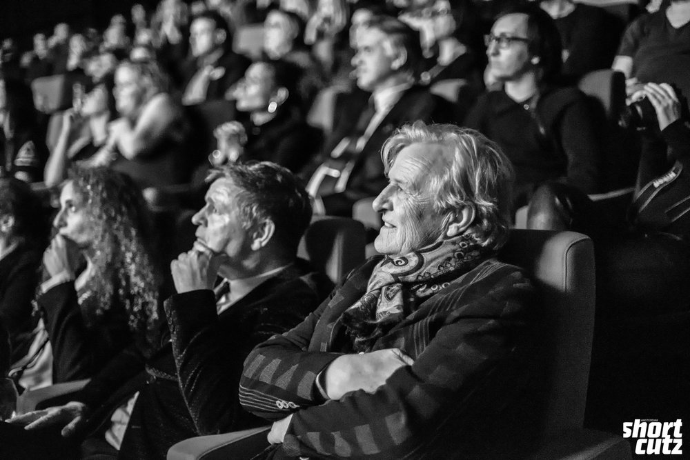 3rd Shortcutz Amsterdam Annual Awards - Rutger Hauer and René Mioch