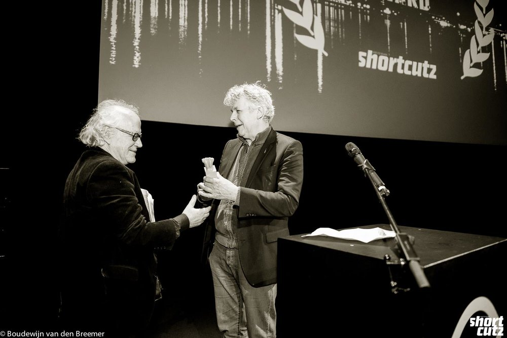 2nd Shortcutz Amsterdam Annual Awards - Jos Stelling (Shortcutz Amsterdam Career Awards) and Marc van Warmerdam