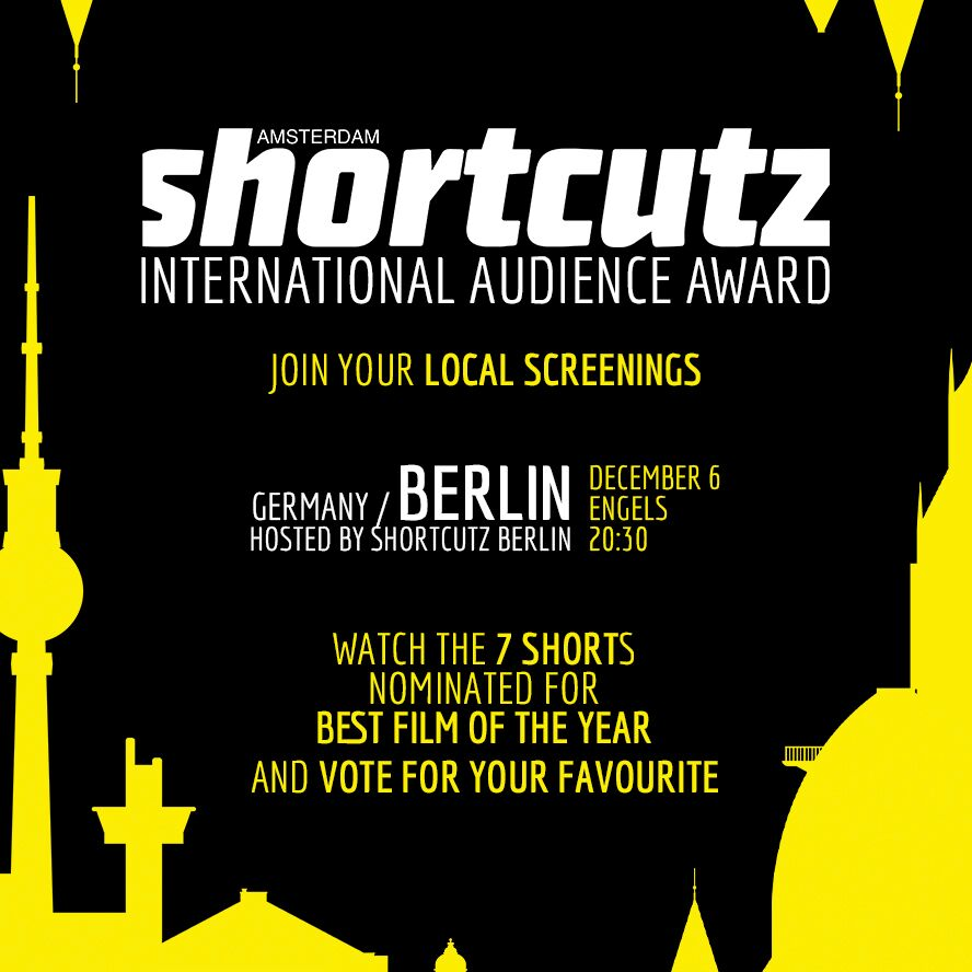 BERLIN   HOSTED BY  SHORTCUTZ BERLIN   DECEMBER 6th | @   E    NGELS   > 20:30   < FREE ENTRY >