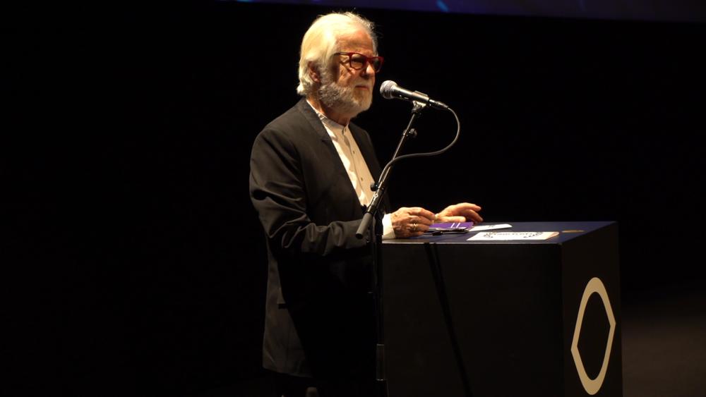 Legendary producer Jan Harlan (The Shining, Full Metal Jacket, Eyes Wide Shut, A.I. Artificial Intelligence) |Photo credits: Magda Lepczyńska