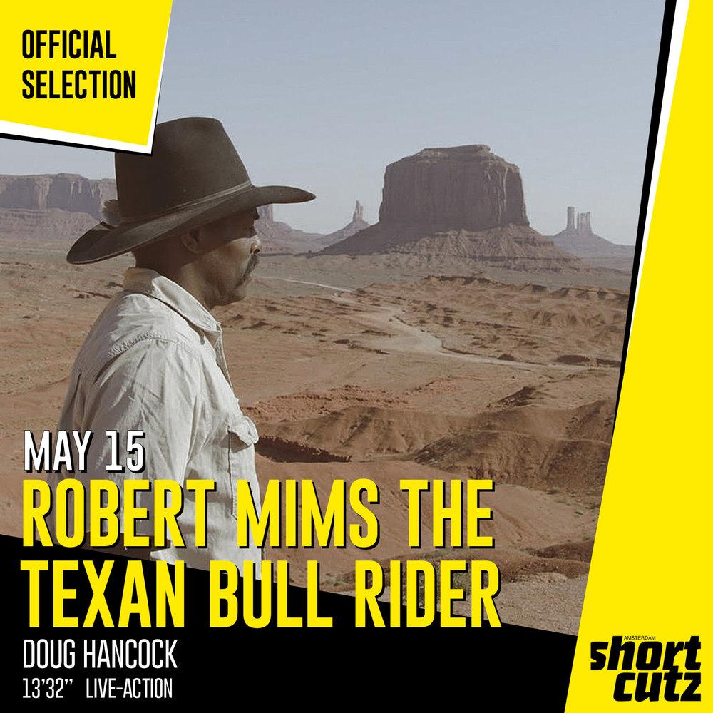 #176 Robert Mims The Texan Bull Rider Poster.jpg