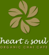 Heart + Soul Cafe - chai, coffee and vegetarian meals