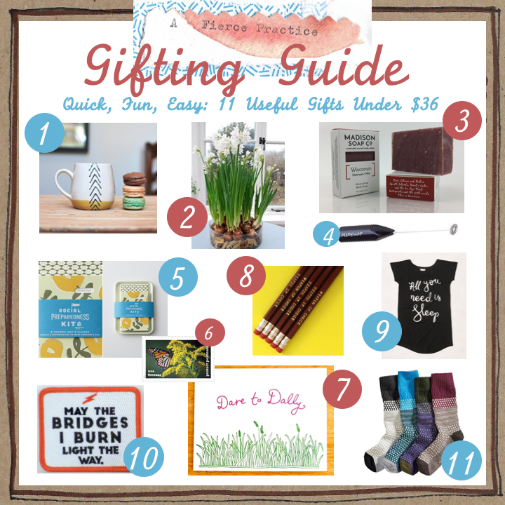 A Fierce Gifting Guide Quick Gifts