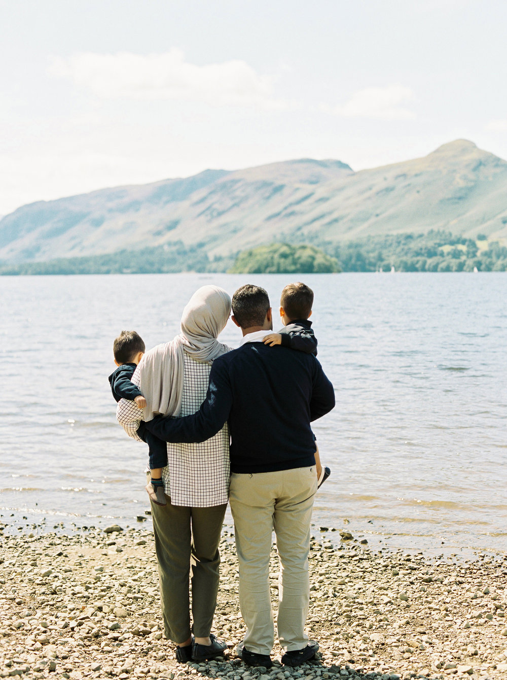Keswick family shoot | Lake District - Amani was on holiday in the Lake District and wanted some photos to document her stay with her young family in this beautiful part of the world.