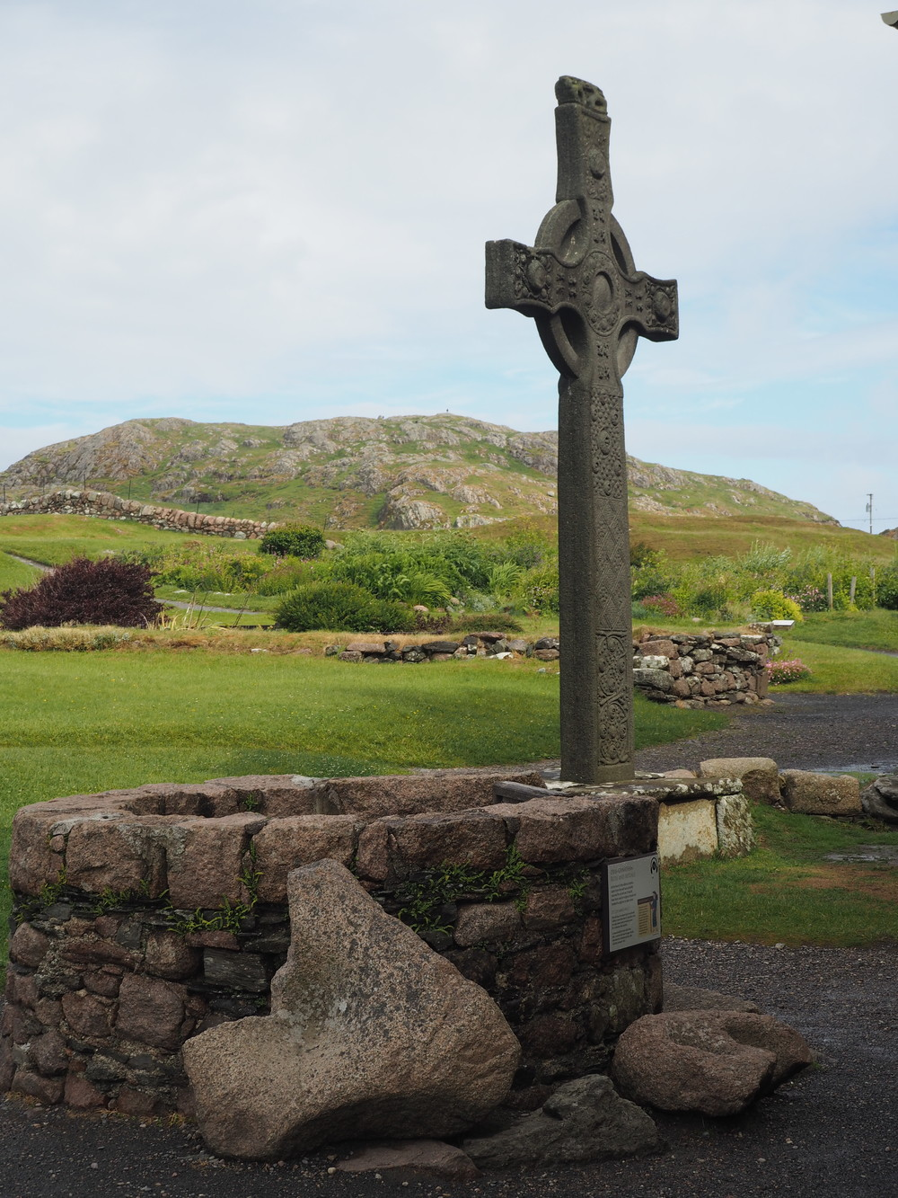 Celtic Cross, Iona Abbey, Scotland.             Gail Coad