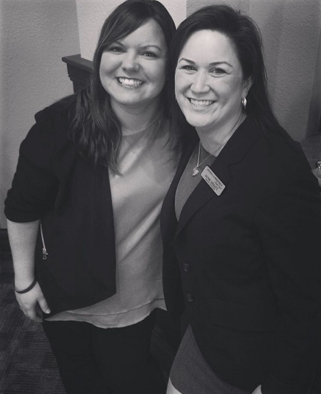 Jayme Braatz (right), General Manager, and Tanya Walker (left), Assistant Manager