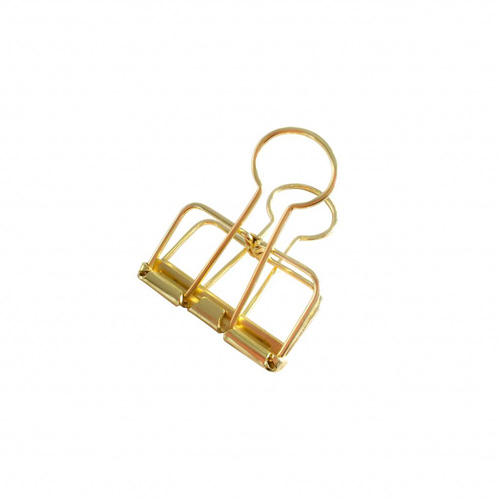 STUDIO  4 BINDER CLIPS GOLD   BEFORE €5,95 / NOW €3,57