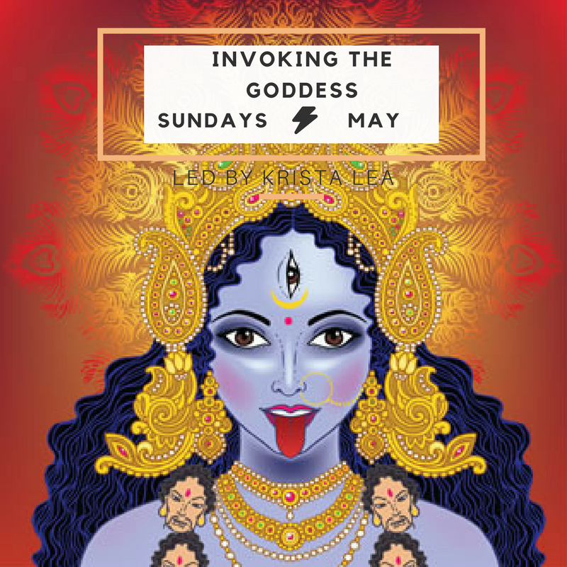 invoking the goddess workshop meditation bar