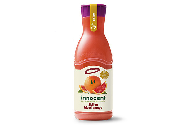 Sicilian blood orange juice packaging