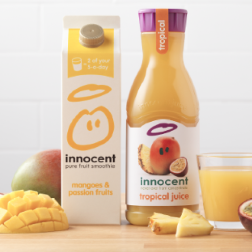 Juice and smoothies advertising