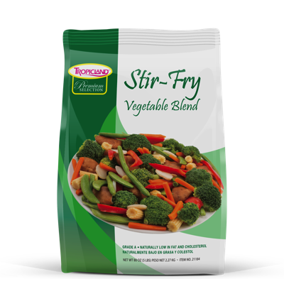 Frozen Vegetable Stir Fry