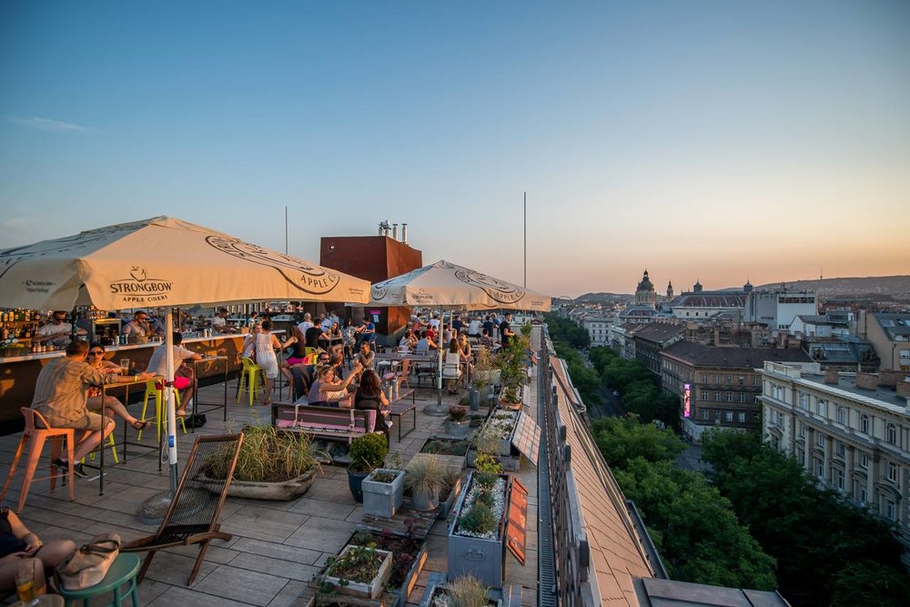 ROOFTOPS BUDAPEST
