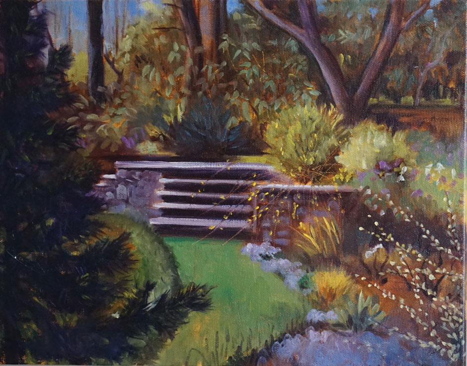 The Stairs to Flora's Garden, Millbourne