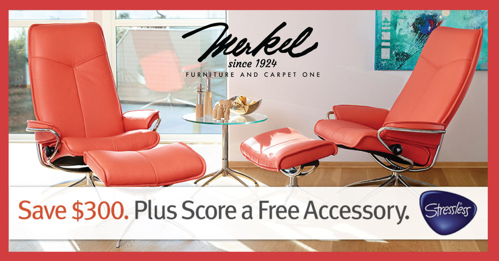 Also, Merkel Furniture Also Proudly Has The Best Selection Of Stressless In  The Ann Arbor Area, So Stop In And Try Out The Most Comfortable Chair On  The ...