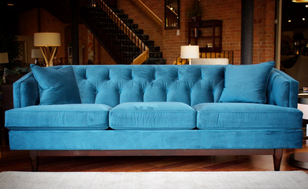 The Emma Sofa by Precedent, part of their wonderful 'Vintage Made Modern' Series